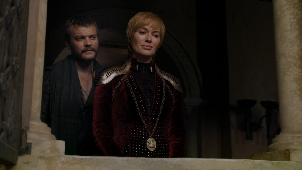cersei lannister with euron greyjoy in mode