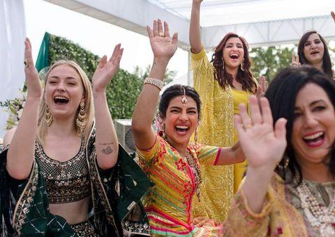 Priyanka Chopra in Sophie's wedding
