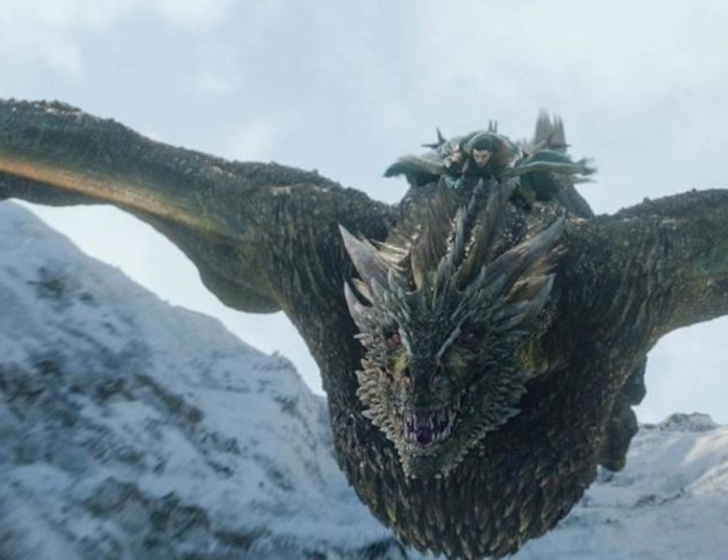 death of dragon rhaegal