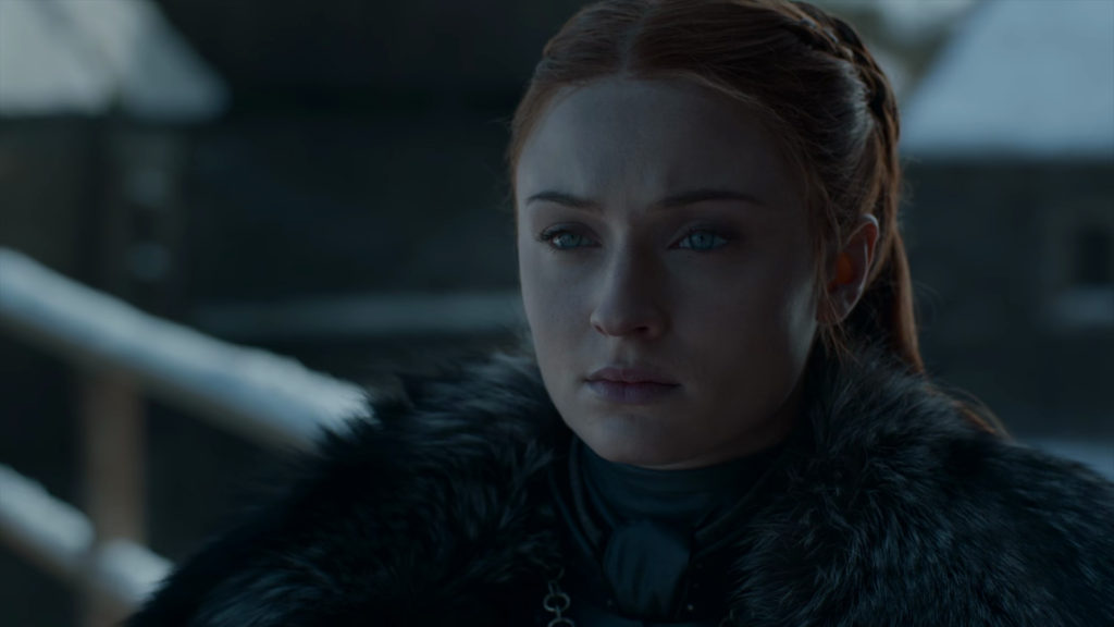 sansa stark the lady of winterfell