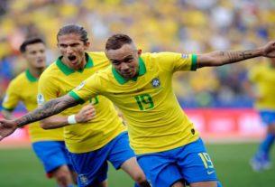 Brazil release pressure of Copa on home soil vs Peru