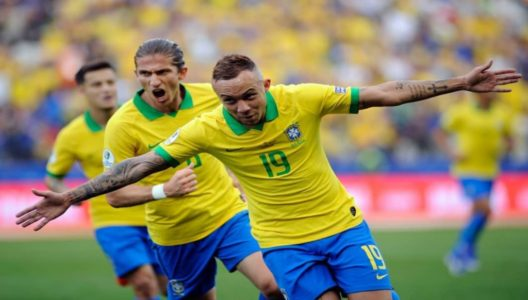 Brazil release pressure of Copa on home soil vs Peru