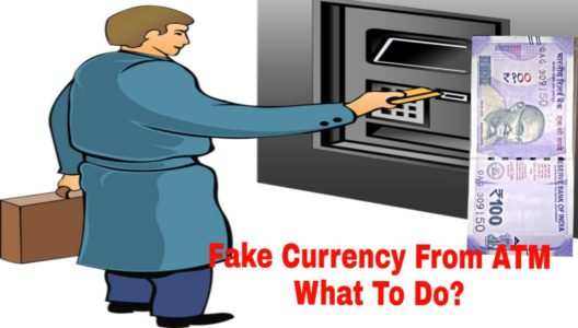 Fake Currency From ATM-What To Do