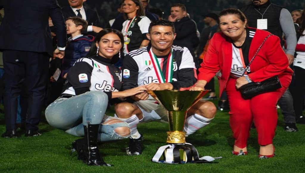 Ronaldo with Georgina Rodríguez
