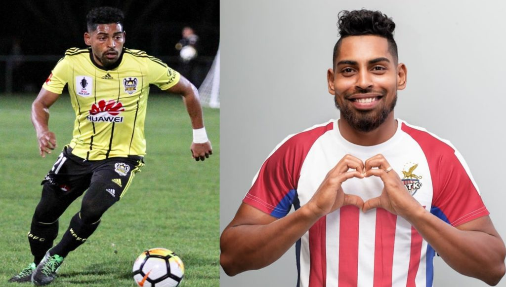 Roy Krishna plays for ATK