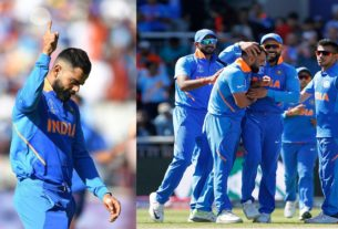 india knockout west indies in icc wc 2019