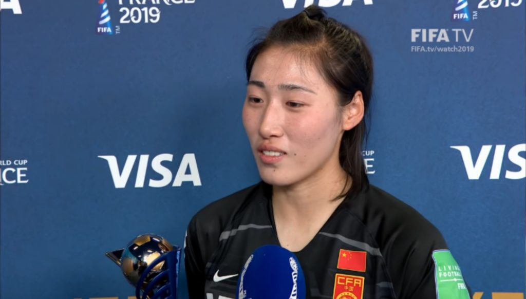 peng achieved the player of the match award