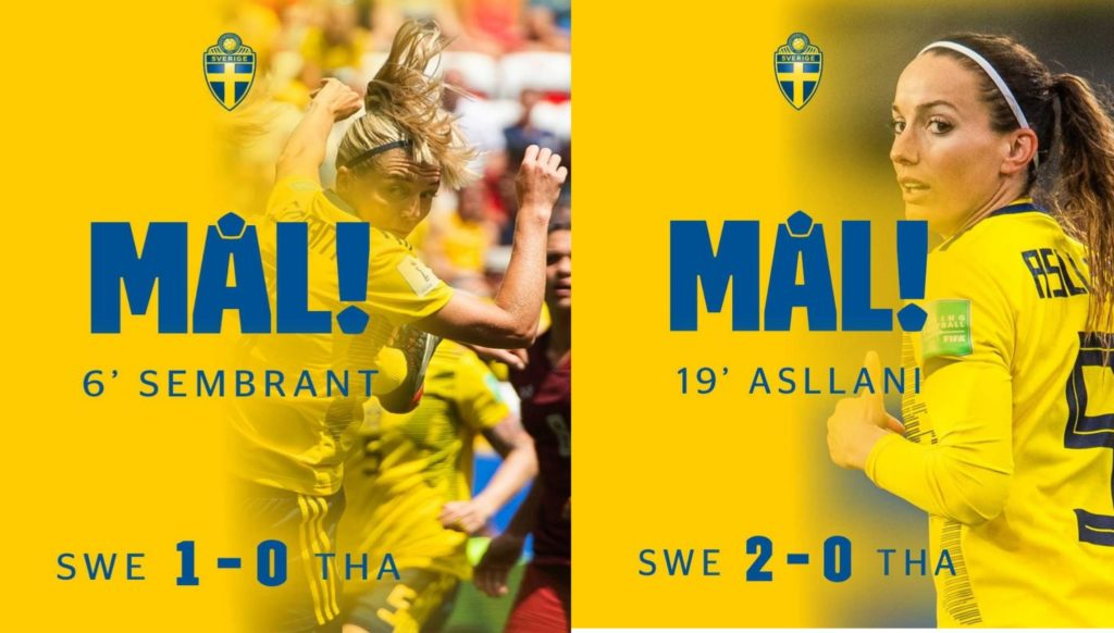 sembrant and asllani scores one goals each