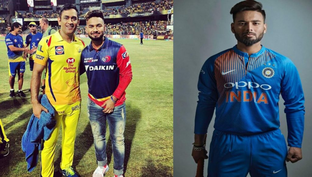 Pant says Dhoni is his idol