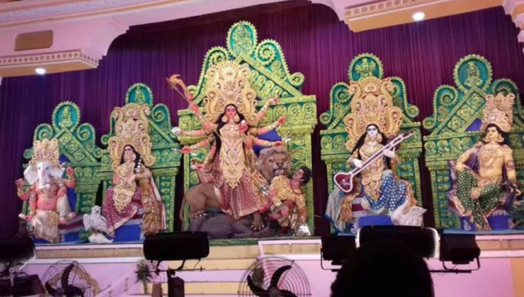 College Square durga puja 2019