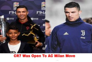 Cristiano Ronaldo was open to ac milan move