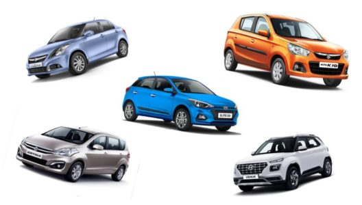 Top selling cars in india