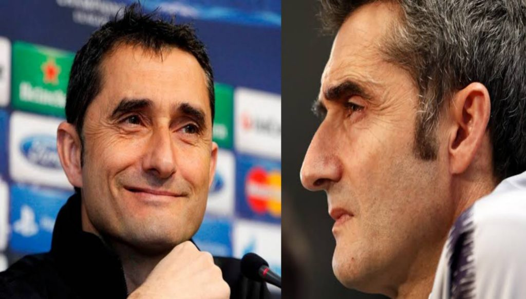 barcelona coach valverde