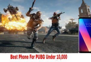 best phone to play pubg under 10000