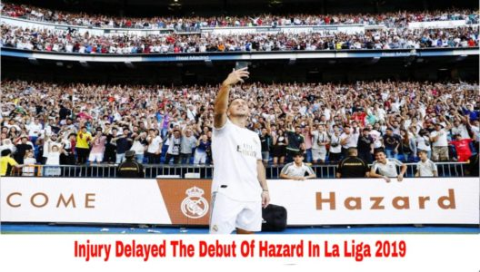 injury delayed the debut of eden hazard
