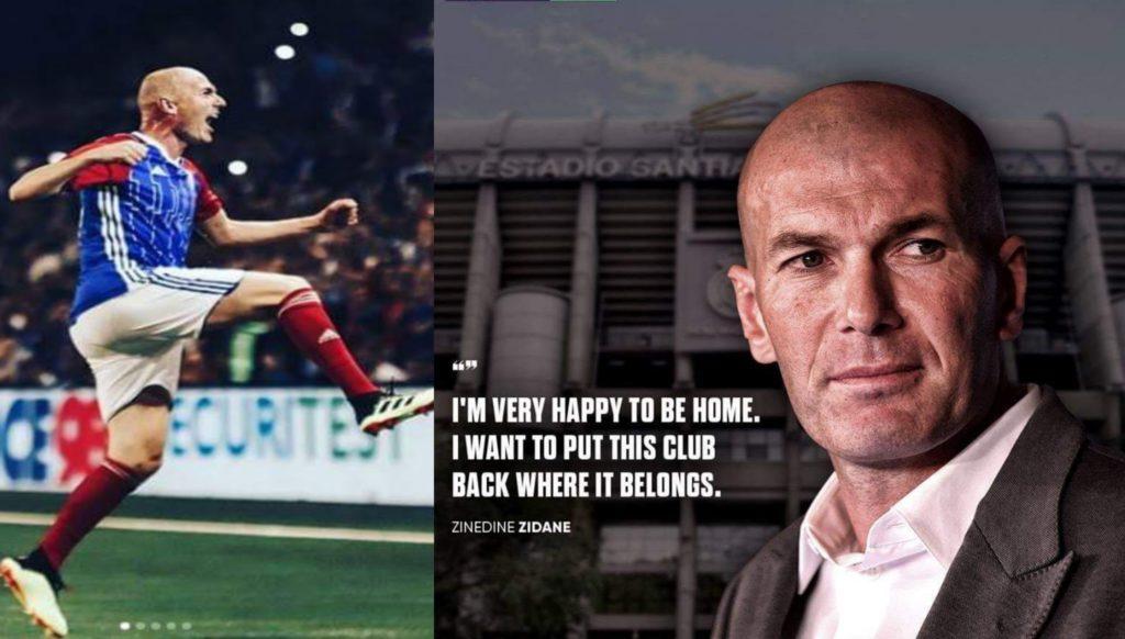 zinedine zidane as a coach of real madrid