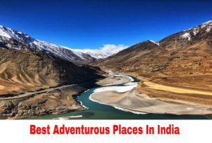 Adventure Places In India
