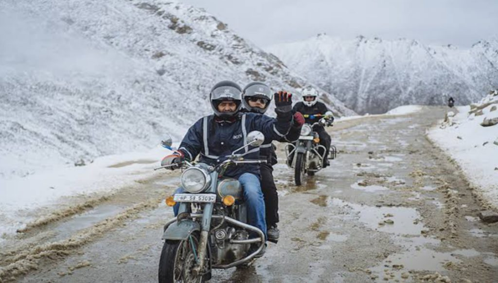 Manali to Leh on Bike