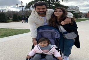 rohit and his family