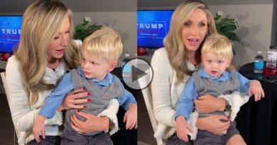 lara trump shares a cute video with her son eric l trump