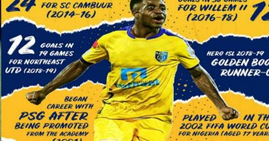 Faithful Ogbeche Will Play For Kerala Blasters