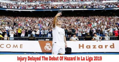 Real Madrid vs Celta Vigo Injury Delayed The Debut Of Eden Hazard
