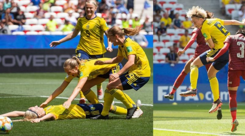 Sweden Beat Thailand To Seal Knockout Stage