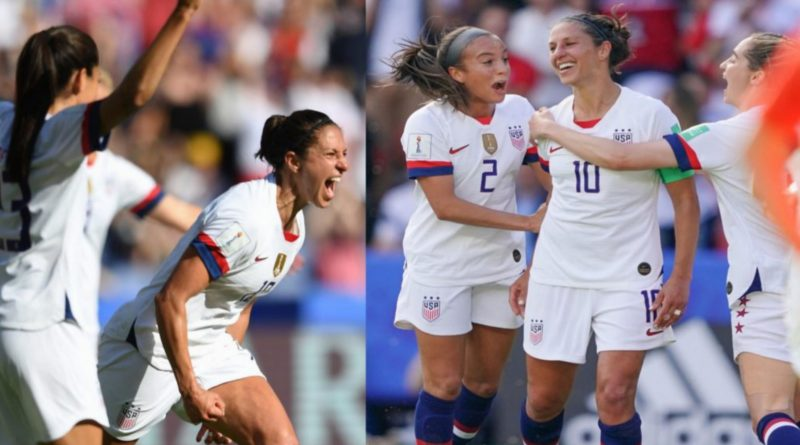 USA vs Chile Carli Lloyd, Julie Ertz Lead USA Soccer To Another Victory At The Women's WC