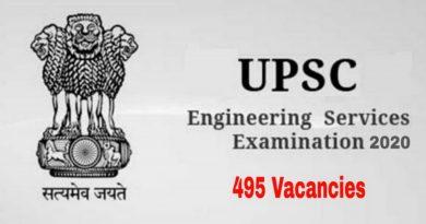 ese engineering services examination 2020