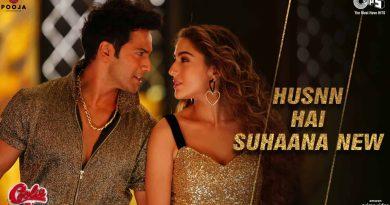 Varun Dhawan Husnn Hai Suhaana New Lyrics - Coolie No.1 movie Sara ALi Khan