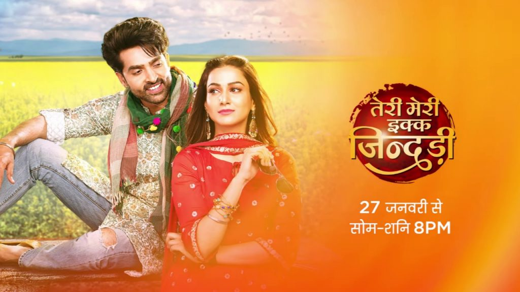 Acter Adhvik Mahajan as Jogi and Amandeep Sidhu as Mahi in Teri Meri Ikk Jindri Serial lead cast wiki