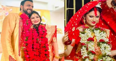 Tollywood actor Indrasish Roy and Souravi Tarafdar marriage photo girlfriend boyfriend turns into husband wife