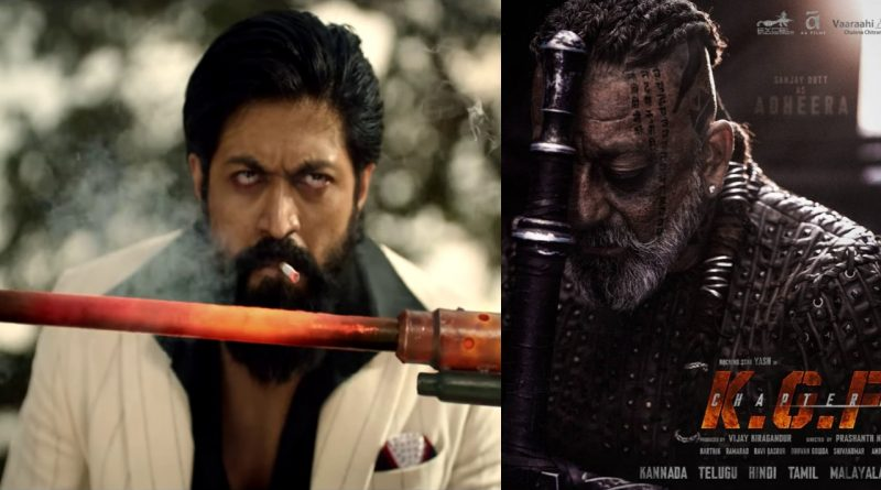 Yash Starrer KGF 2 Teaser Crosses 140 M Views within a week - Overwhelmed Raveena Tandon and Sanjay Dutt