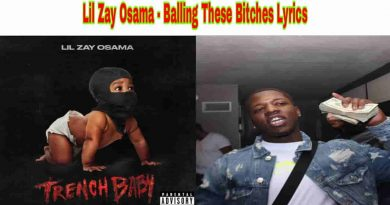 Lil Zay Osama - Ballin These Bitches Lyrics from Trench Baby Album