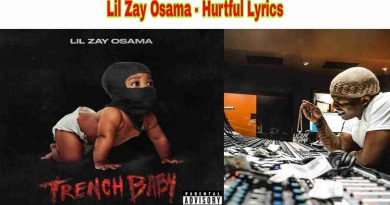 Lil Zay Osama - Hurtful Lyrics from Trench Baby Album