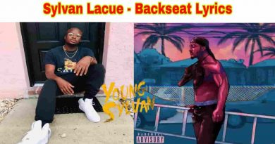 Sylvan Lacue - Backseat Lyrics Young Sylvan EP.1 2021