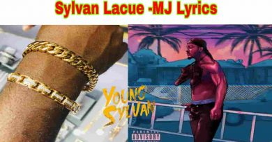 Sylvan Lacue - MJ Lyrics Young Sylvan EP.1 2021