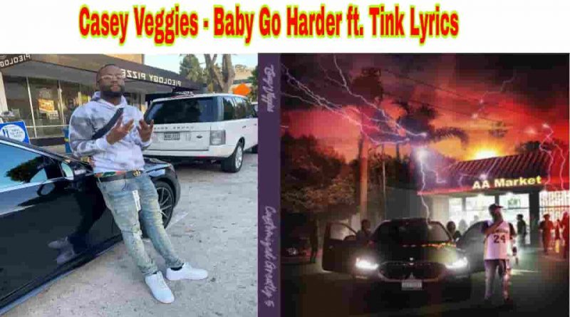 casey veggies baby go harder lyrics from cg5 2021 album