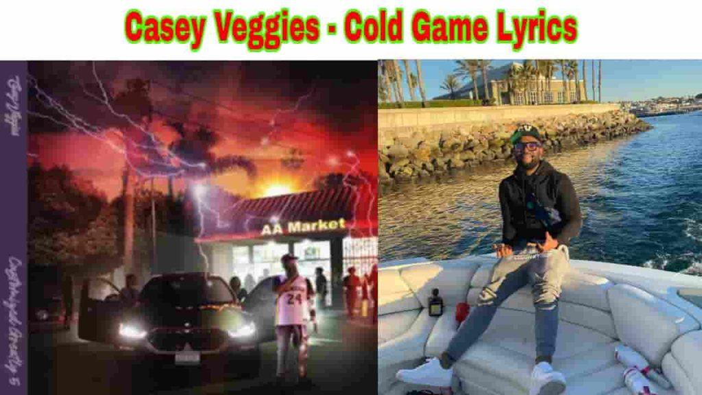 casey veggies cold game lyrics from cg5 2021 album