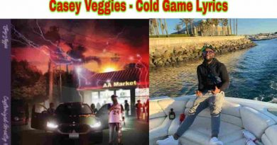 casey veggies cold game lyrics from cg5 2021 album