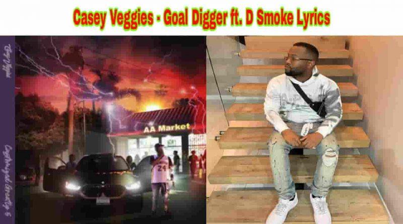 casey veggies goal digger lyrics from cg5 2021 album