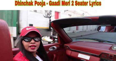 gaadi meri 2 seater lyrics by dhinchak pooja