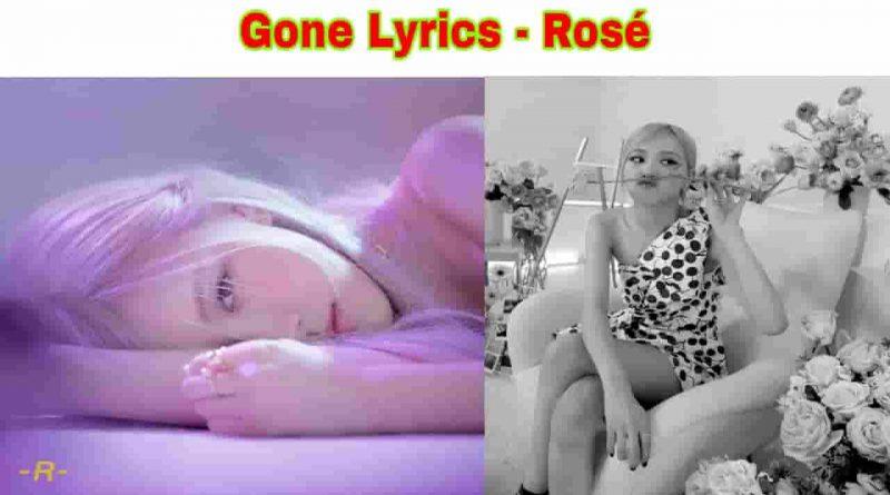 rose gone lyrics r album blackpink