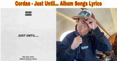 cordae just until lyrics and tracklist 2021
