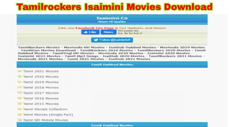 tamilrockers isaimini tamil movie download free 2021
