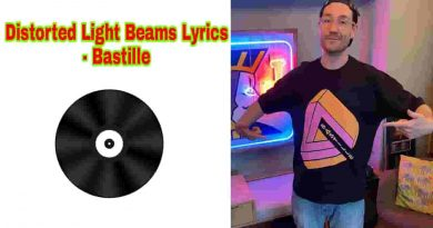 distorted light beam lyrics bastille latest pop song