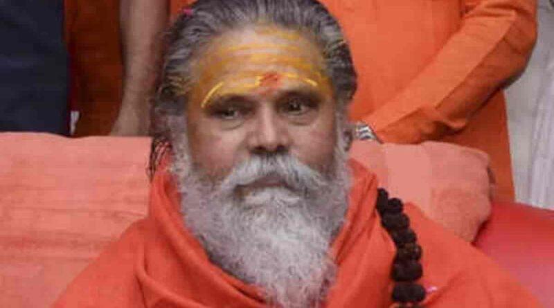 mahant narendra giri wiki age wife death news bio net worth party